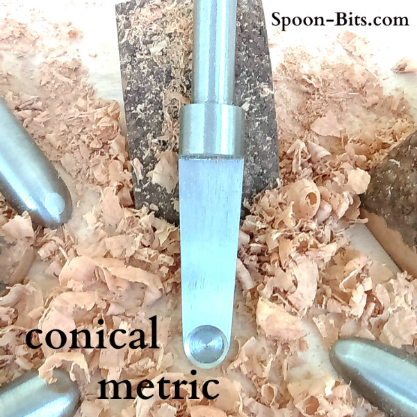 Conical Spoon Bits - Metric